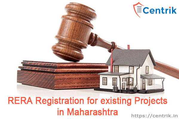 rera registration-existing projects in maharashtra