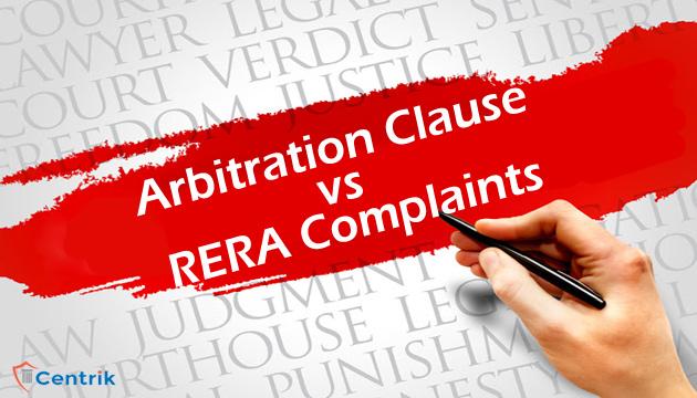 arbitration-clause-vs-rera-complaints