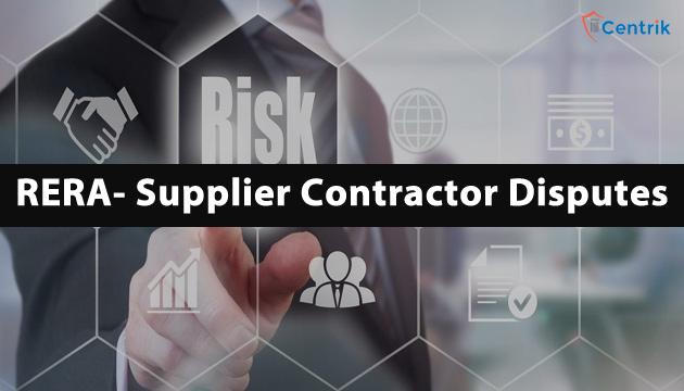 RERA-supplier-contractor-disputes