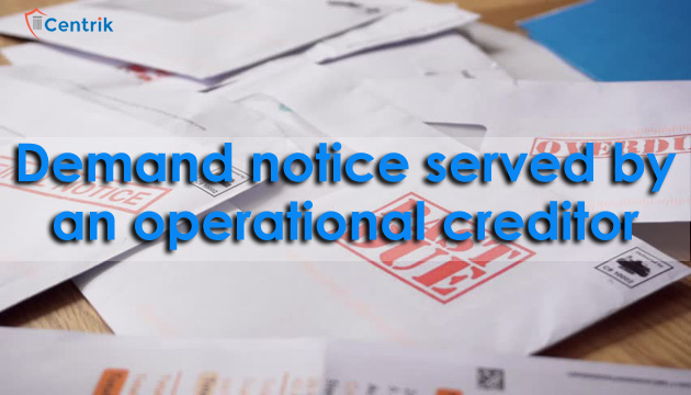 demand-notice-served-by-an-operational-creditor