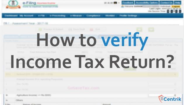 how-to-verify-income-tax-return
