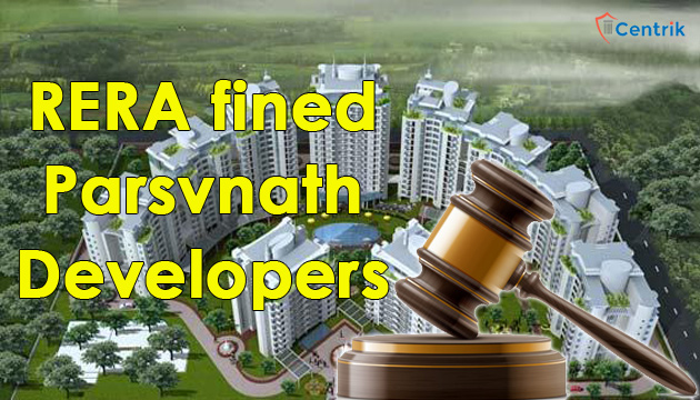 haryana-RERA-fined-Parsvnath-developers