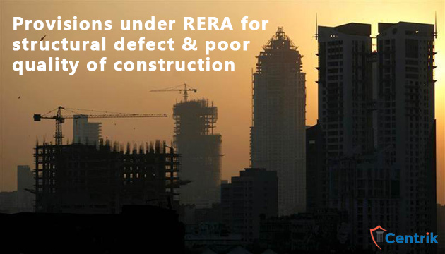 Provisions-under-RERA-for-structural-defect-and-poor-quality-of-construction