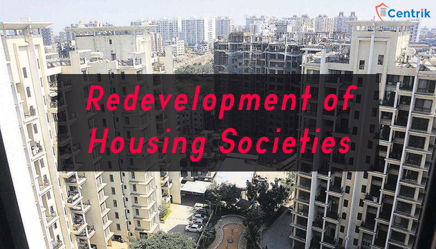purview of RERA in case of re-development