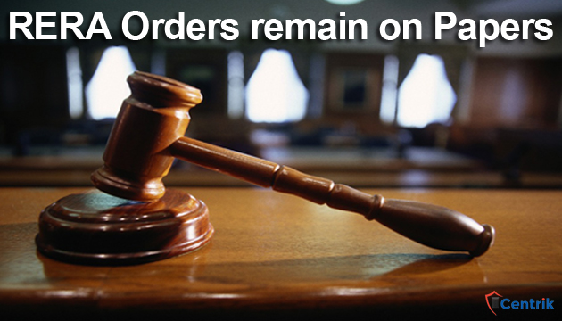 RERA-Orders-remain-on-Papers