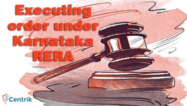 Executing-order-under-Karnataka-RERA