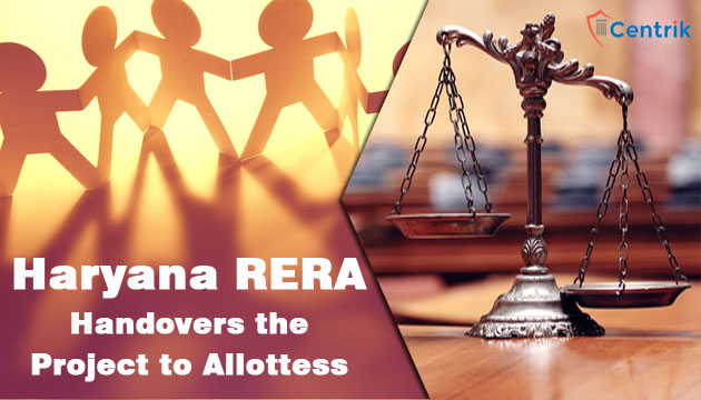 Haryana-RERA-Handover-the-project-to-association-of-Allottees